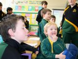 6th Class visit for Seachtain na Gaeilge