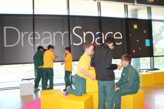 Holly Park visit Microsoft Dream Space
